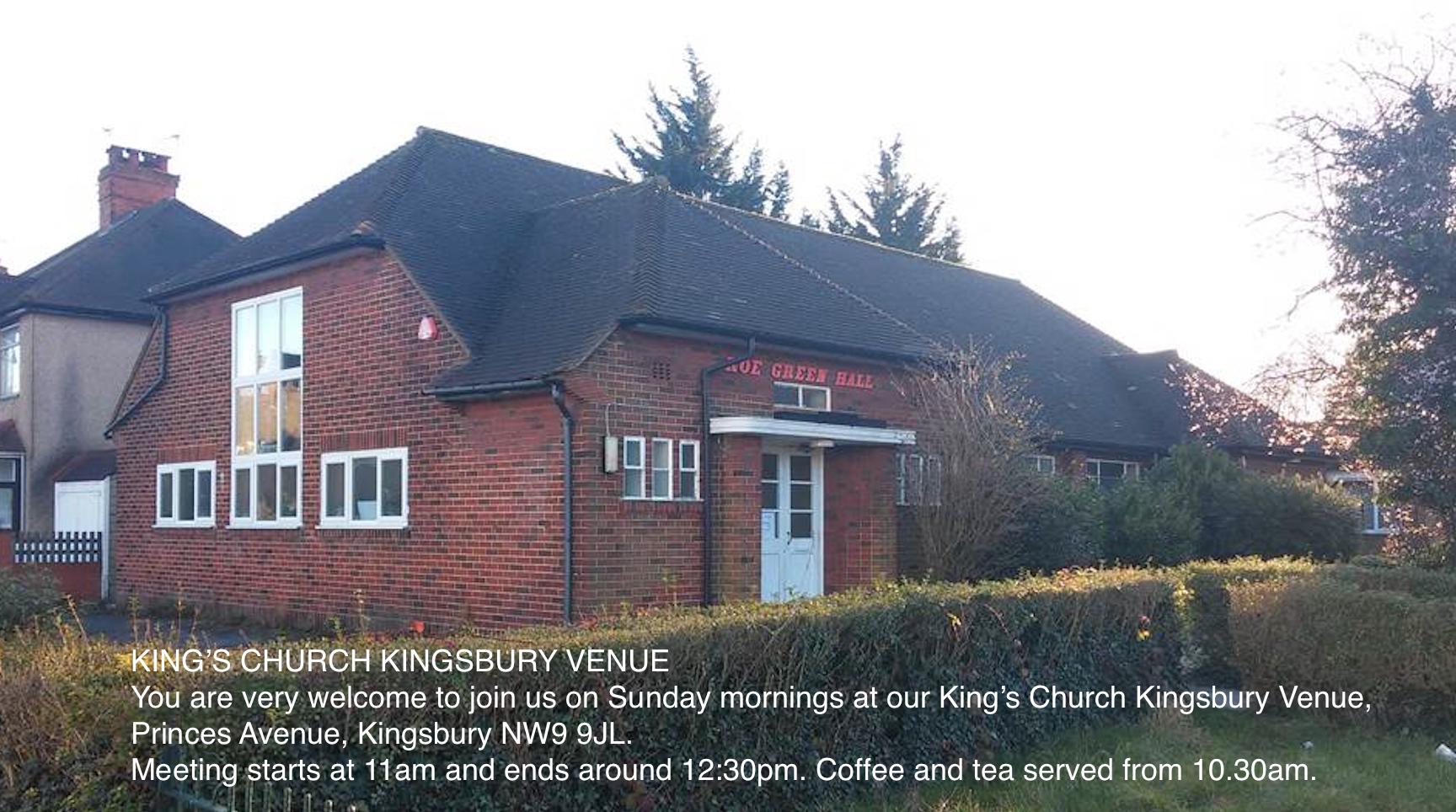 King's Church Kingsbury Venue
