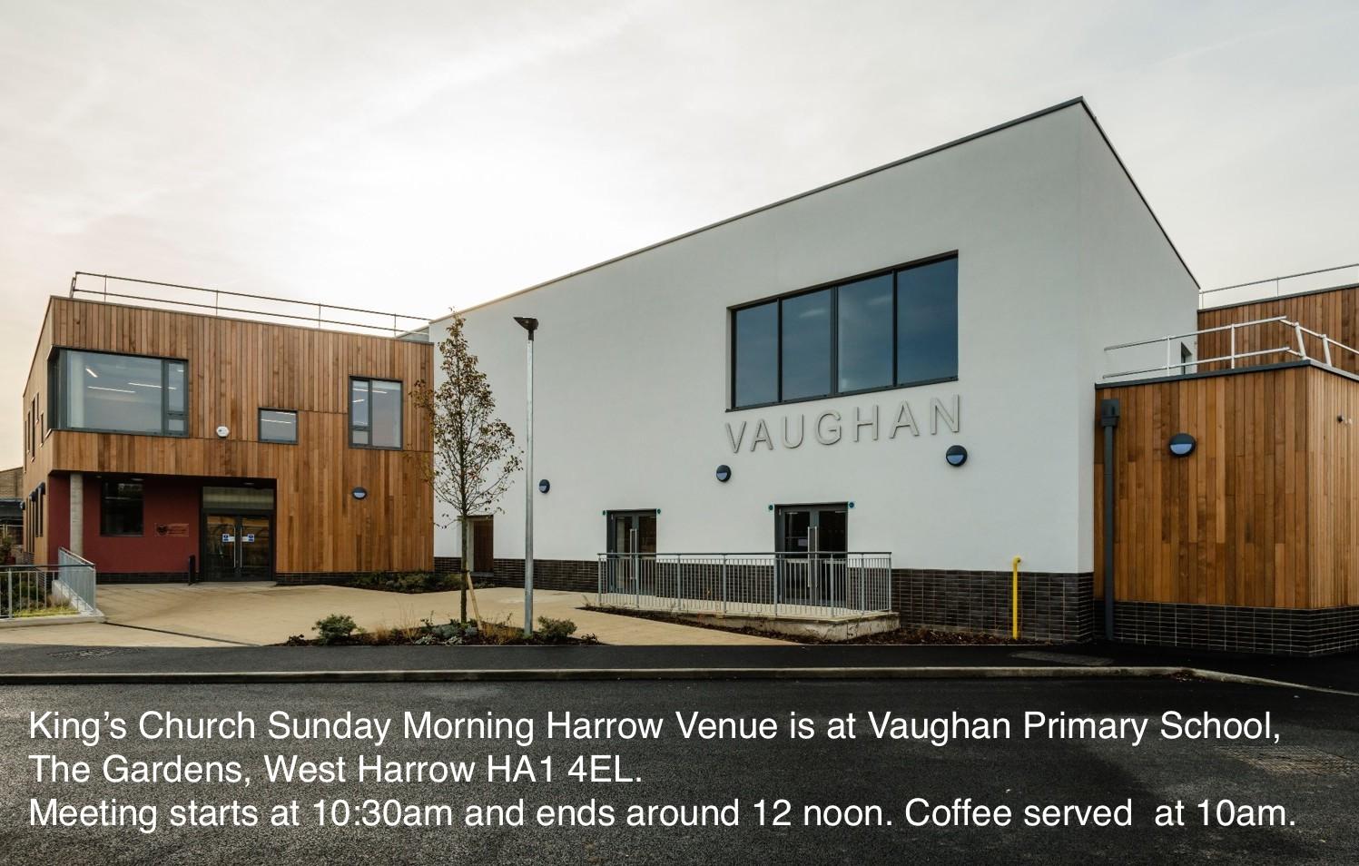King's Church Harrow Sunday Venue