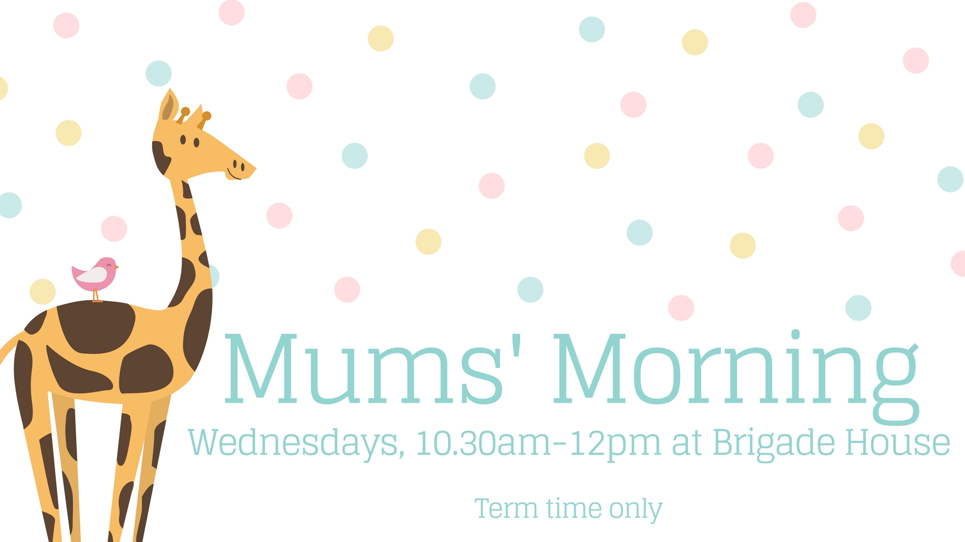 Mum's Morning Wednesdays