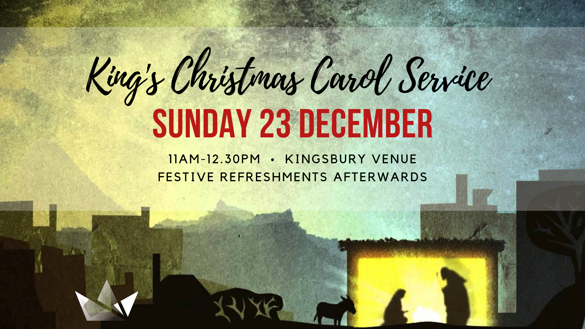 King's Carol Service Kingsbury